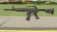 CS:GO M4A1 (Zebra Dark Skin) для GTA San Andreas