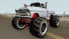 Chevrolet Apache Monster Truck 1958 V1 для GTA San Andreas