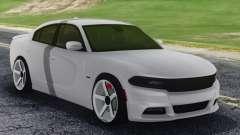 Dodge Challenger SRT White для GTA San Andreas