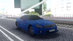 Mercedes-Benz SL65 Blue для GTA San Andreas