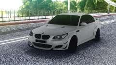 BMW M5 E60 White Sedan для GTA San Andreas