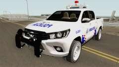Toyota Hilux Policia de Santiago del Estero для GTA San Andreas