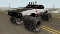 Pontiac Firebird Off Road Shark 1968 для GTA San Andreas