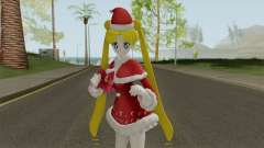 Usagi Tsukino in Christmas Clothes для GTA San Andreas