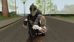 Zombie Skin With Arena War Outfit для GTA San Andreas