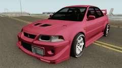 Mitsubishi Lancer Evolution VI GSR 1999 IVF для GTA San Andreas