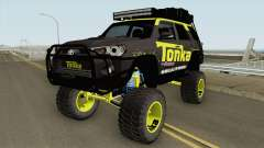 Toyota 4Runner Tonka Truck для GTA San Andreas