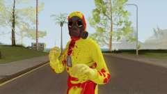 HazMat Skin Zombie для GTA San Andreas