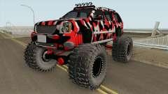 GMC Yukon Monster Truck Camo 2008
