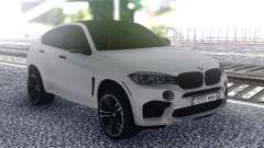 BMW X6 White для GTA San Andreas