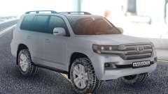 Toyota Land Cruiser 200 Winter Edition для GTA San Andreas
