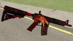 CSGO M4A4 Howl для GTA San Andreas