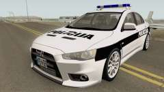 Mitsubishi Lancer Evolution X POLICIJA BiH для GTA San Andreas