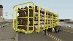 Trailer B-Doble Timber для GTA San Andreas