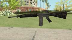M16A2 Partial Forest Camo (Ext Mag) для GTA San Andreas