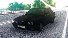BMW E34 525 Black для GTA San Andreas