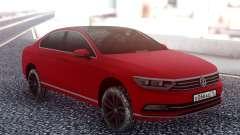 Volkswagen Passat B8 Red для GTA San Andreas
