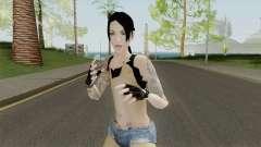 Rock Girl Skin для GTA San Andreas