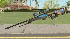 Sniper Rifle (Monster Skin) для GTA San Andreas