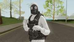 HazMat Skin White для GTA San Andreas