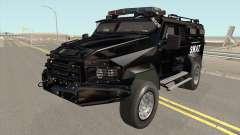 NFS MW 2012 SWAT Van для GTA San Andreas