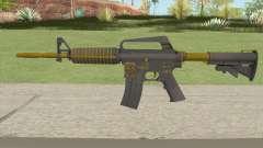 CS:GO M4A1 (Metals Skin) для GTA San Andreas
