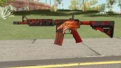 CS-GO M4A4 Howl для GTA San Andreas