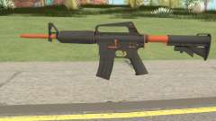 CS:GO M4A1 (Orange Accents Skin) для GTA San Andreas