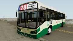 Todobus Pompeya II Agrale MT15 Linea 78 Interno для GTA San Andreas