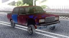 ВАЗ 2107 Цветной для GTA San Andreas