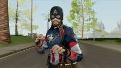 Skin Random 144 (Outfit Captain America) для GTA San Andreas
