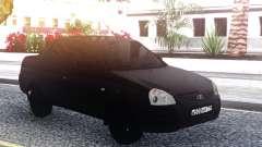 Lada Priora Black для GTA San Andreas