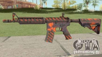 CS-GO M4A4 Radiation Hazard для GTA San Andreas