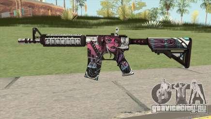 CS-GO M4A4 Neo-noir для GTA San Andreas