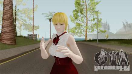 Ayane High Society Blonde для GTA San Andreas