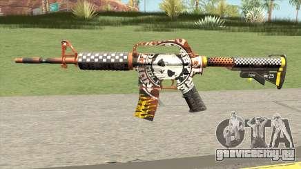 CS:GO M4A1 (Demolition V1 Skin) для GTA San Andreas