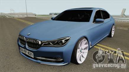 BMW 750Li HQ для GTA San Andreas