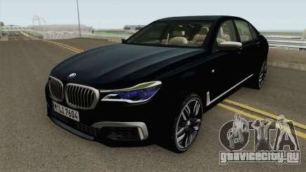BMW M760LI G12 2018 German V1 для GTA San Andreas