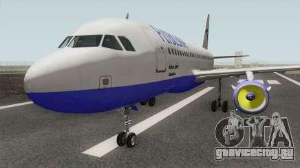 FLYBOSNIA Airbus A319 V2 для GTA San Andreas