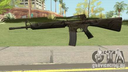 M16A2 Full Jungle Camo (Ext Mag) для GTA San Andreas