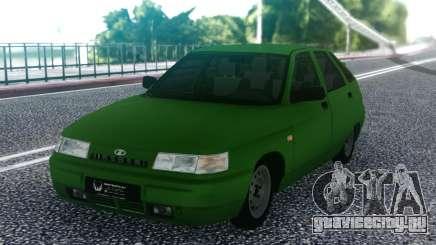 ВАЗ 2112 Зеленый Хэтчбэк для GTA San Andreas