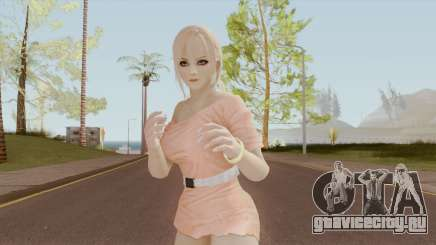 White Girl Heat Kasumi DoA для GTA San Andreas