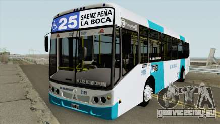 Todobus Pompeya II Agrale MT15 Linea 25 Interno для GTA San Andreas