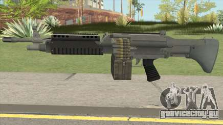 Combat MG (Default Mag) GTA V для GTA San Andreas