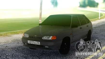 ВАЗ 2114 Серый Хэтчбэк для GTA San Andreas