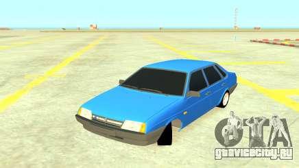 ВАЗ 21099 Синий для GTA 4