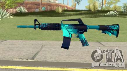 CS:GO M4A1 (Icarus Skin) для GTA San Andreas