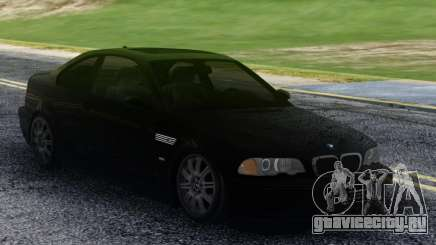 BMW M3 Black Coupe для GTA San Andreas