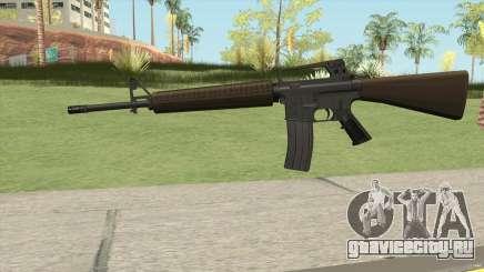 M16A2 Partial Desert Camo (Ext Mag) для GTA San Andreas