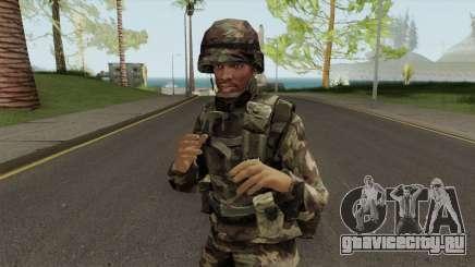CJ Militar для GTA San Andreas